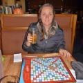Pear Cider and Scrabble, The Tug Boat Brewery