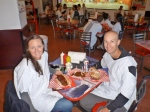 Possibly the worst food we have ever tasted, Heart Attack Grill, Freemont Street Las Vegas