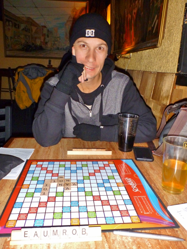 Scrabble at the Tug Boat Brewery