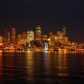 Seattle nightime view