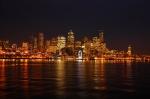Seattle nightime view