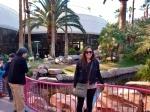 Sharni and Pink Flamingos at the Flamingo Casino and Resort