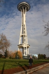 Sharni and Seattle Space Needle