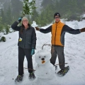 Snowman, Grouse Mountain