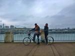 Tandem Biking around Willamette River (1)