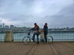Tandem Biking around Willamette River (1)