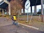 Tandem Biking around Willamette River (2)