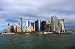 View of Manhattan from the Hudson River