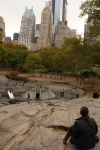 View of NYC from Central Park Playground