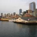 View of Seattle from Bainbridge Ferry