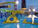 Water playground on deck