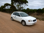 Baleno half way across oz