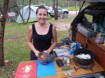 camping crows nest national park
