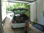 Loading up the Baleno