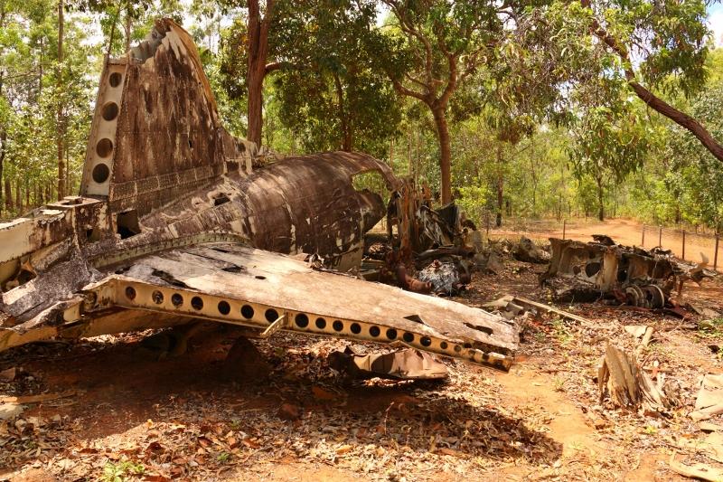 17 aircraft douglas DC3 wreckage near bamaga