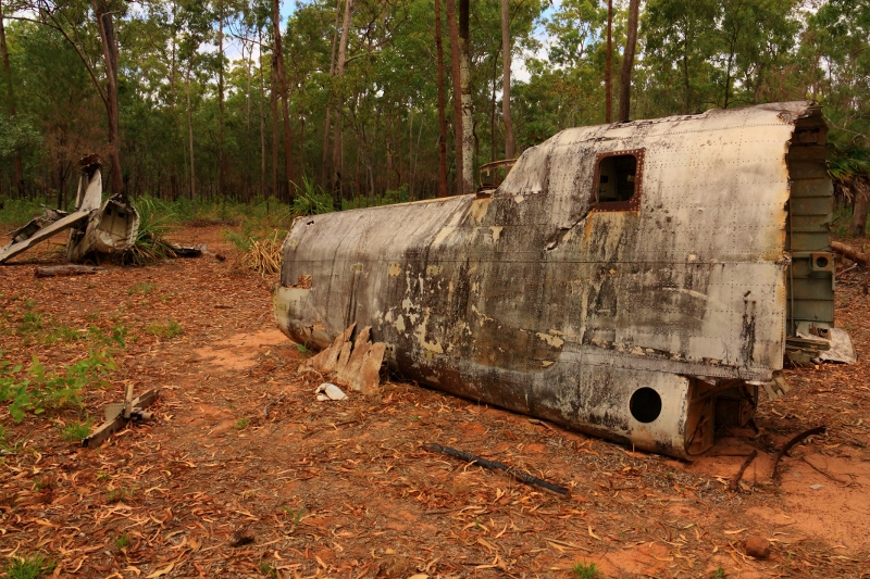 18 aircraft bristol beaufort mark VIII wreckage near bamaga