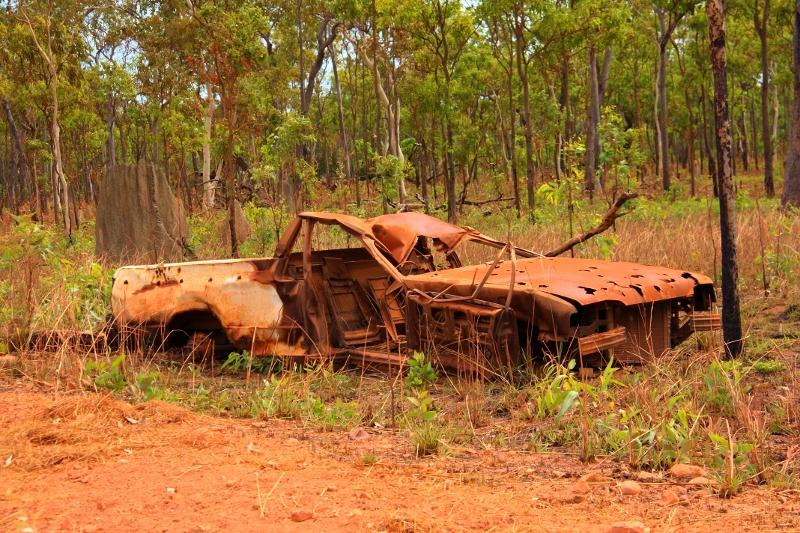 8 ford falcon ute XF 1987 wreck portland road