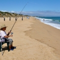 nonna fishing at myalup beach