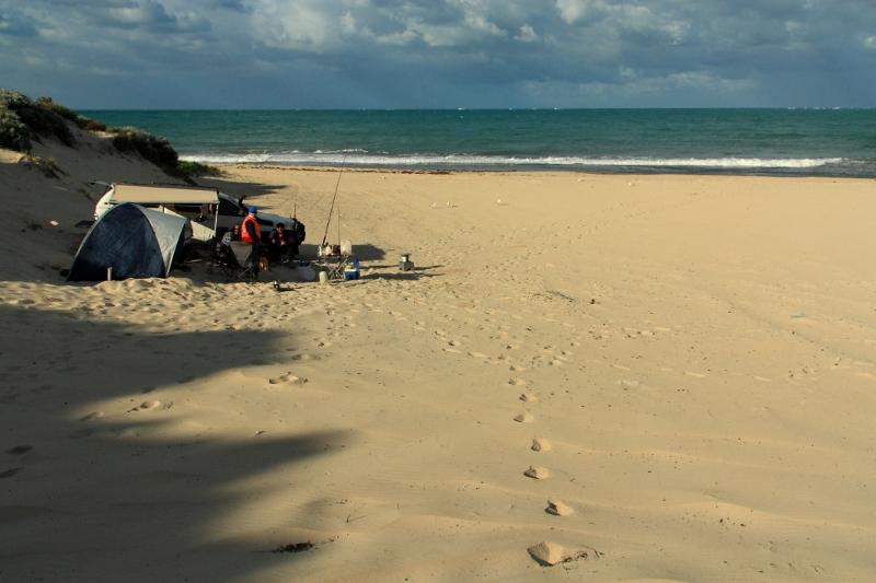 wilbinga beach camp