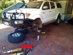 hilux in pieces