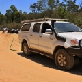 landrover recovery thanks to hilux