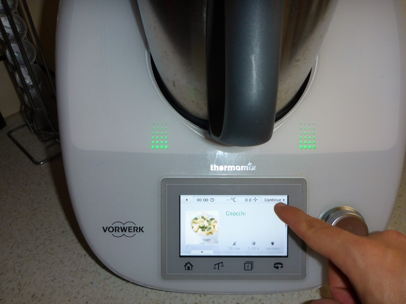 thermomix recipe in a computer