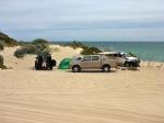 campsite wilbinga beach