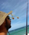 fishing with beard