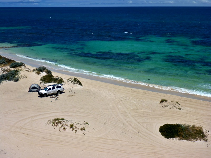 wilbinga beach camping