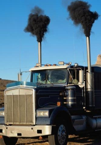 diesel soot