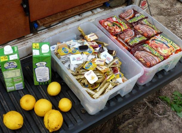 camp food supplies