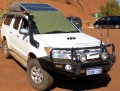 hilux with new solar panels