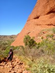 kata tjuta olgas valley of winds walk