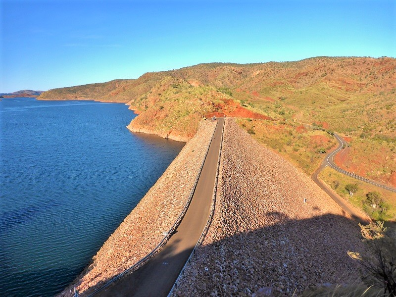 lake argyle ord river dam