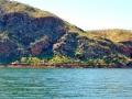 lake argyle rock formations
