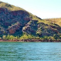 lake argyle rock formations