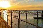 wyndham jetty sunset