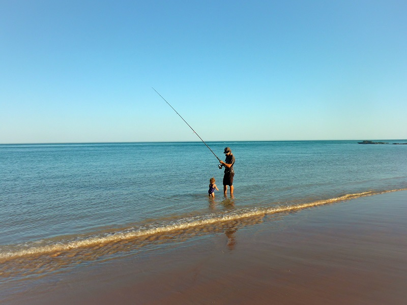 broome boat ramp beach fishing