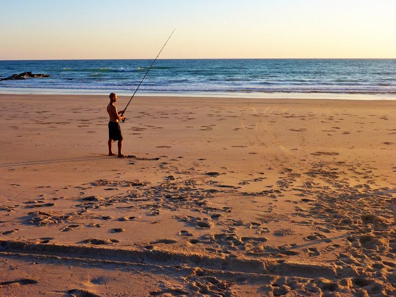 fishing at quondong point