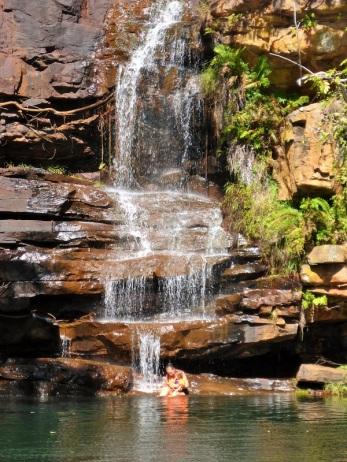 galvin gorge waterfall