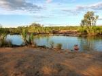 king edward river rock pool