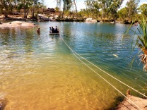 manning gorge boat crossing