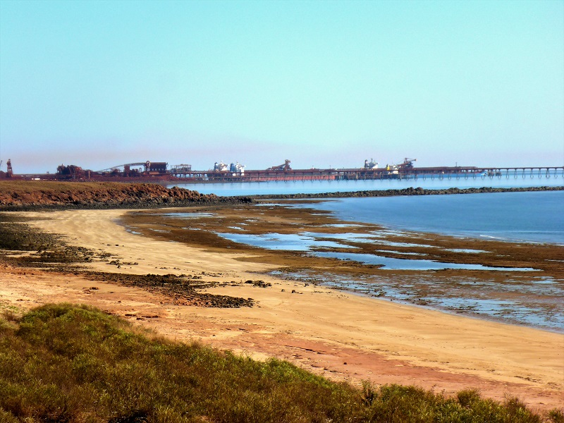 wickham iron ore port facility