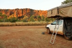 windjana gorge camping area
