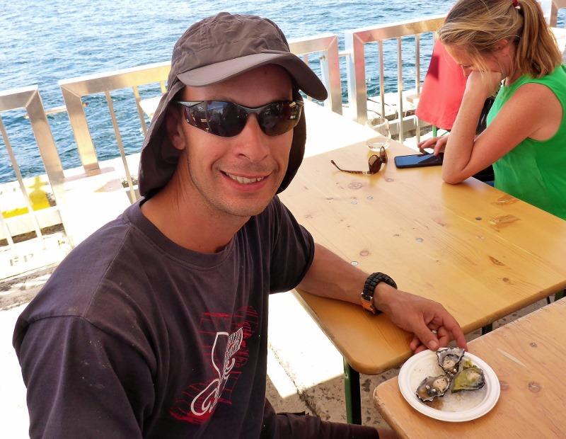 expensive oysters at taste of tasmania