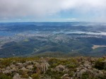 hobart from mount wellington