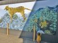 sheffield tasmania tiger mural