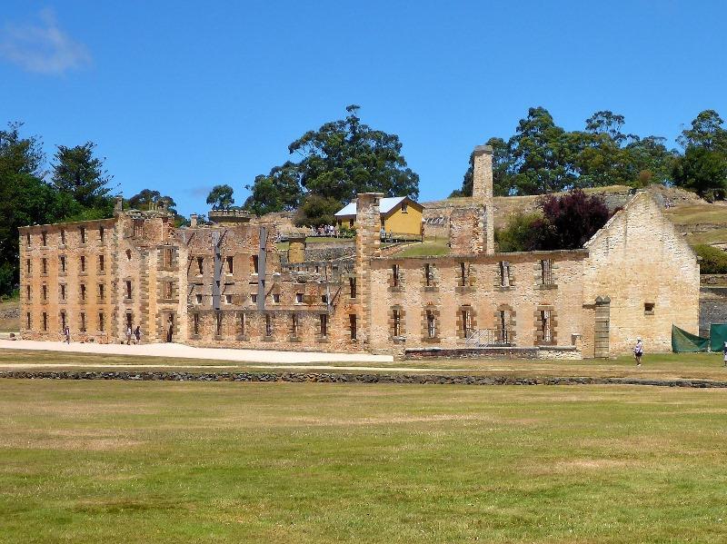 port arthur tasmania ruins