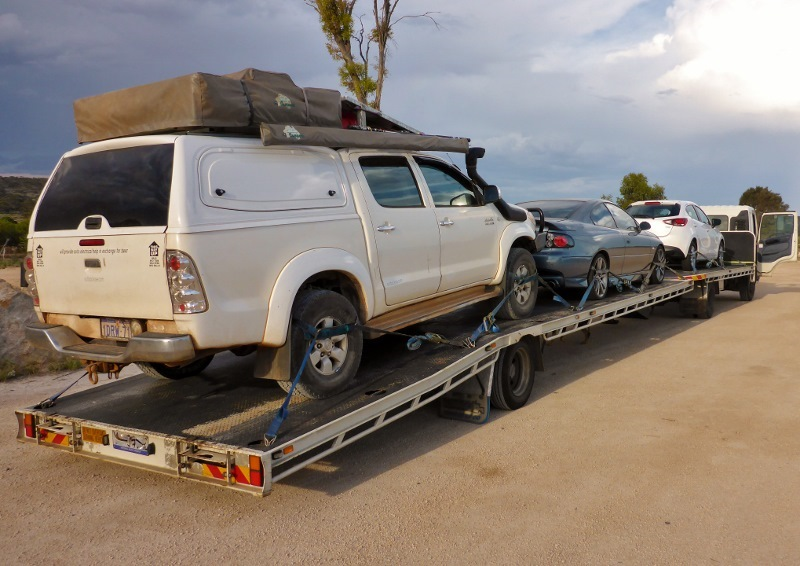 nullarbor tow to nundroo