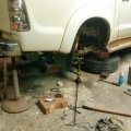 hilux axle replacement